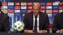 Zidane gets drenched by Real Madrid players - Real Madrid vs. FC Sevilla