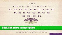 Books The Church Leader s Counseling Resource Book: A Guide to Mental Health and Social Problems