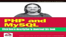 [Download] PHP and MySQL: Create - Modify - Reuse Kindle Online