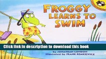 [Download] Froggy Learns to Swim Kindle Free