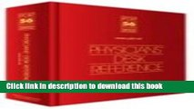 [Popular] Physicians  Desk Reference 2002 *Library/Hospital Version* Paperback Free
