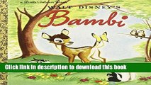 [Download] Bambi (Disney Bambi) Paperback Collection