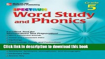 [PDF] Spectrum Word Study and Phonics, Grade 5 (McGraw-Hill Learning Materials Spectrum) Book Online