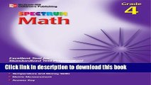 [PDF] Spectrum Math, Grade 4 (McGraw-Hill Learning Materials Spectrum) Book Free