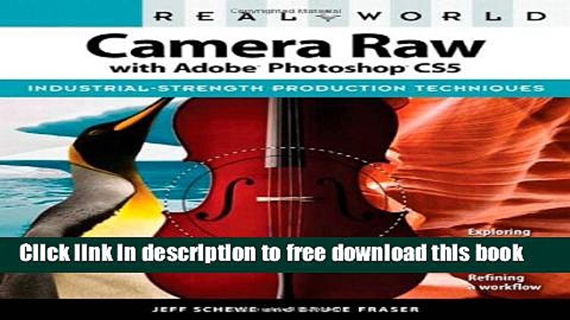 [Download] Real World Camera Raw with Adobe Photoshop CS5 Paperback Free
