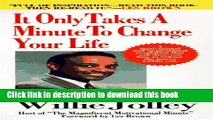 [Popular] It Only Takes A Minute To Change Your Life Hardcover OnlineCollection