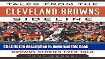 [Popular] Tales from the Cleveland Browns Sideline: A Collection of the Greatest Browns Stories
