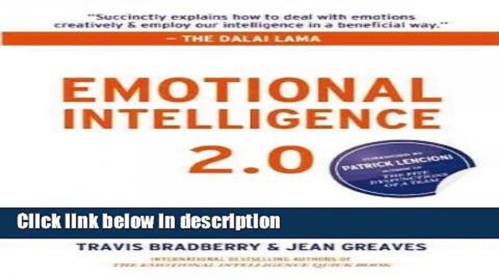 Download (EMOTIONAL INTELLIGENCE 2 0 [WITH ACCESS CODE] ) BY Bradberry,  Travis (Author) Hardcover