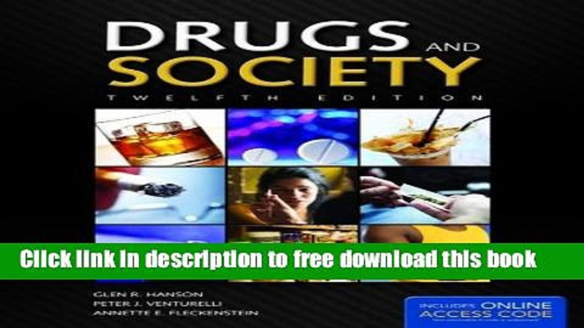 [Popular] Books Drugs And Society (Hanson, Drugs and Society) Free Online