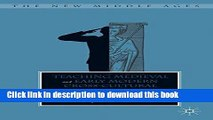 [PDF] Teaching Medieval and Early Modern Cross-Cultural Encounters (The New Middle Ages) Reads