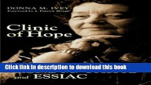 [Popular] Books Clinic of Hope: The Story of Rene M. Caisse and Essiac Full Online