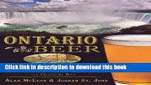 [Popular] Books Ontario Beer: A Heady History of Brewing from the Great Lakes to the Hudson Bay