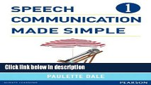 Books Speech Communication Made Simple 1 (with Audio CD) Free