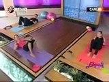 Ebru Şallı Basen Eritme ve Göbek Zayıflama Hareketleri Pilates Egzersizleri Video İzle sağlık videoları