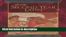 [PDF] JENNEY S SECOND YEAR LATIN GRADES 8-12 TEXT 1990C Book Online