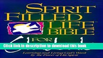 Read Holy Bible: Spirit Filled Life Bible for Students New