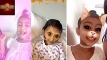 CUTIE North West Snapchat Videos Compilation | Hollywood Asia