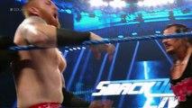 Rhyno vs. Heath Slater - If Heath Slater wins, he receives a contract SmackDown Live, Aug. 9, 2
