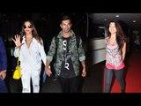 Airport Spotting 30th June 2016 | Bipasha Basu, Karan Singh Grover, Suneil Shetty