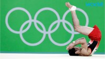 Gymnasts Uchimura Wins Gold In The Olympics-All-Around