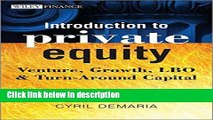 [PDF] Introduction to Private Equity: Venture, Growth, LBO and Turn-Around Capital [Full Ebook]