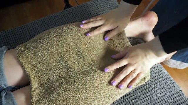 [미니유 한국어 ASMR] 로션촉촉 다리마사지│Leg Massage Roleplay│Binaural