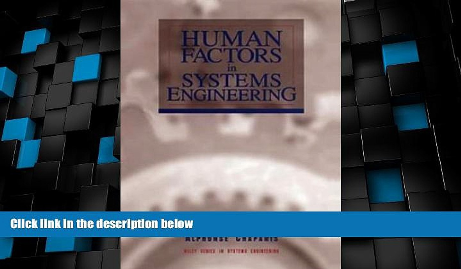 Big Deals Human Factors In Systems Engineering Best Seller Books Best Seller Video Dailymotion
