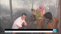Yémen : l'Arabie Saoudite reprend les bombardements, frappe par erreur une usine de production alimentaire