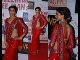 Deepika padukone red hot saree | Looking Hot Video in red hot saree