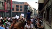 Manifestation Bruxelles du 19 juillet 2014       PALESTINE VIVRA PALESTINE VAINCRA