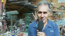 Univers du poète ferrailleur : Visite de l'atelier (Lizio)