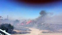 Feu de Fos : importantes flammes dans la zone industrielle du Tonkin