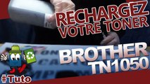 Comment Recharger Une Cartouche Laser Brother TN-1050