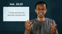 Jesus ist Gott und Herr - Joh 20,28 (Jesus Lord and God)