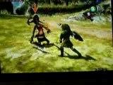 Combat avec l'épée de bois (pas au début du jeu)