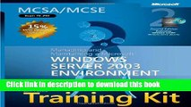[Popular] MCSA/MCSE Self-Paced Training Kit (Exam 70-290): Managing and Maintaining a Microsoft®