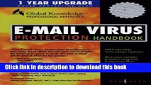 [Download] E-Mail Virus Protection Handbook: Protect Your E-mail from Trojan Horses, Viruses, and