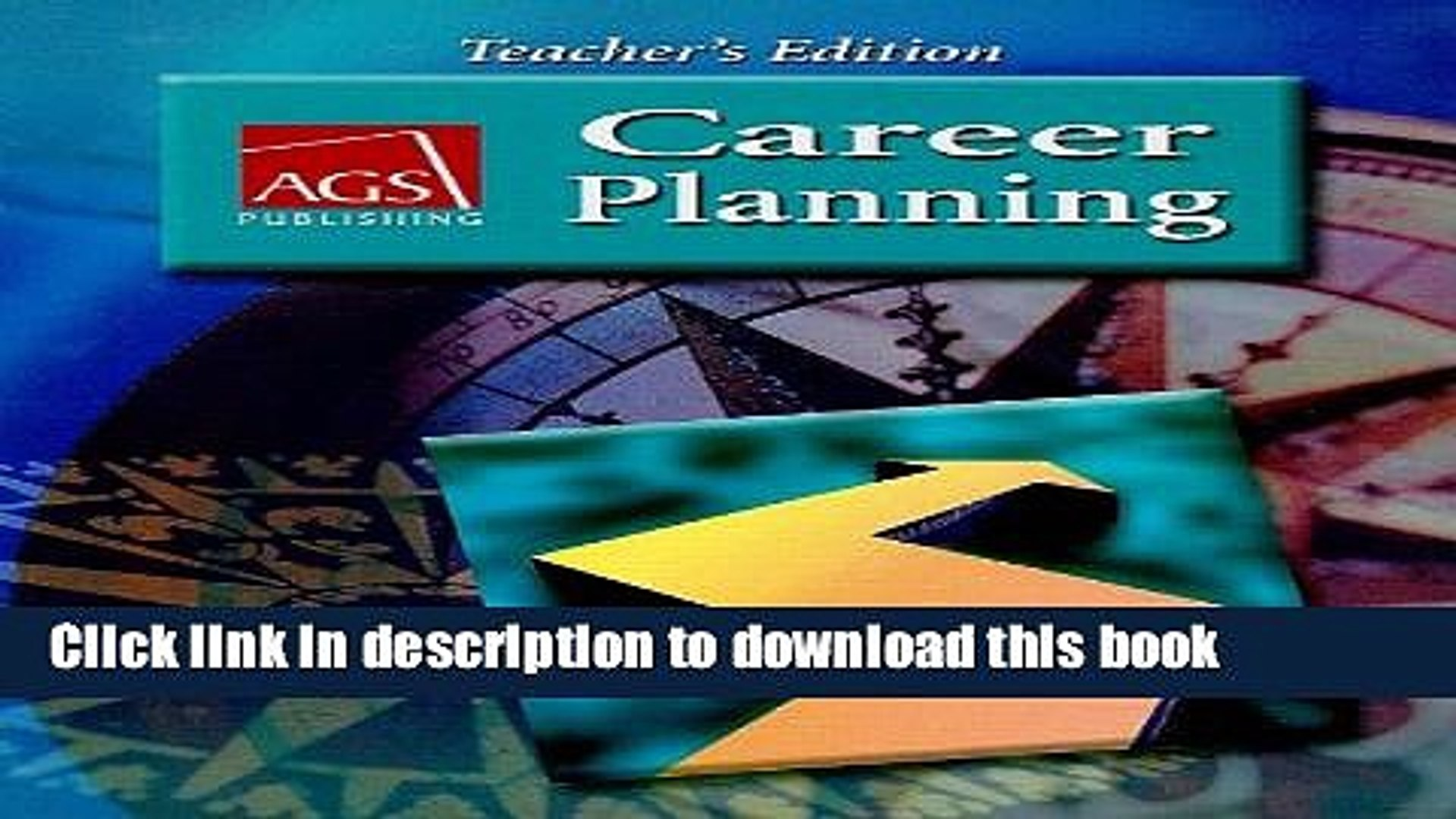 Download Career Planning Teachers Edition Ags Career Planning Paperback Online Video Dailymotion