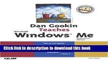 [Popular] Dan Gookin Teaches Microsoft Windows Millennium Edition Paperback Free