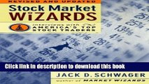 [Popular] Stock Market Wizards: Interviews with America s Top Stock Traders Kindle Collection