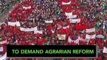 Mexican Farmers March for Agrarian Reform