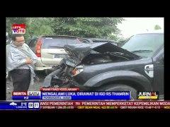 Ikang Fawzi Kecelakaan di Tol Cipularang