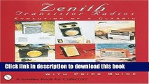 [Read PDF] Zenith*r Transistor Radios: Evolution of a Classic (Paradigm Visual Series) Ebook Free
