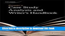 [Popular] Power s Case Study Analysis and Writer s Handbook Hardcover Free
