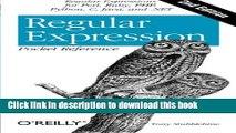 [Popular] Regular Expression Pocket Reference: Regular Expressions for Perl, Ruby, PHP, Python, C,