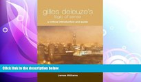 book online Gilles Deleuze s Logic of Sense: A Critical Introduction and Guide