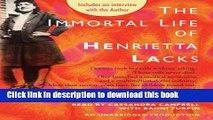 [Read PDF] The Immortal Life of Henrietta Lacks The Immortal Life of Henrietta Lacks Ebook Free