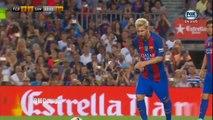 Le superbe coup franc de Lionel Messi - FC Barcelone vs Sampdoria