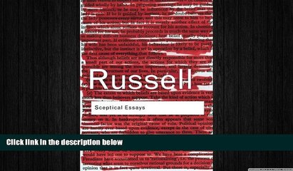 behold  Sceptical Essays (Routledge Classics)