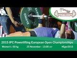 Women's -50 kg | 2015 IPC Powerlifting European Open Championships, Eger